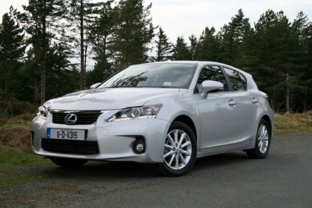 Car News | Lexus CT 200h launched in Ireland | CompleteCar.ie