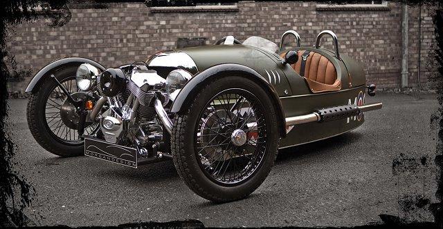 Car News | New three-wheeled Morgan in detail | CompleteCar.ie
