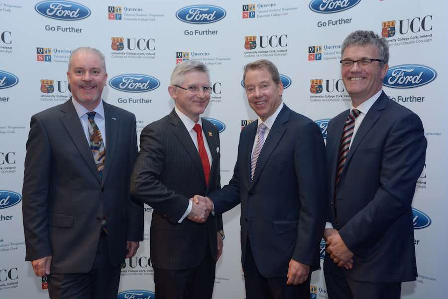 Car News | Bill Ford announces Ford Centenary Quercus Scholarship
