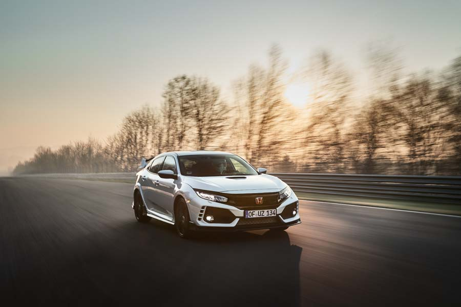 Car News | Honda Civic Type R new Nurburgring record