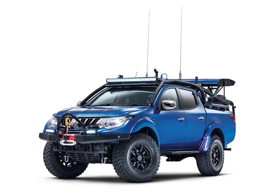 Car News | Mitsubishi L200 at Commercial Vehicle Show