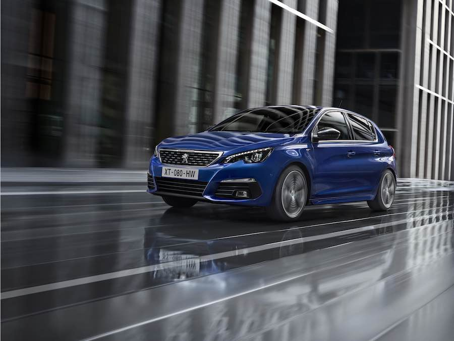 Peugeot 308 gets a soft update
