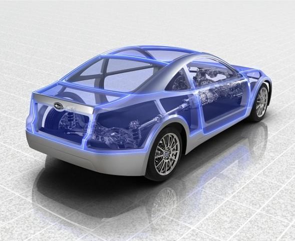 Car News   Subaru teases new coupé   CompleteCar.ie