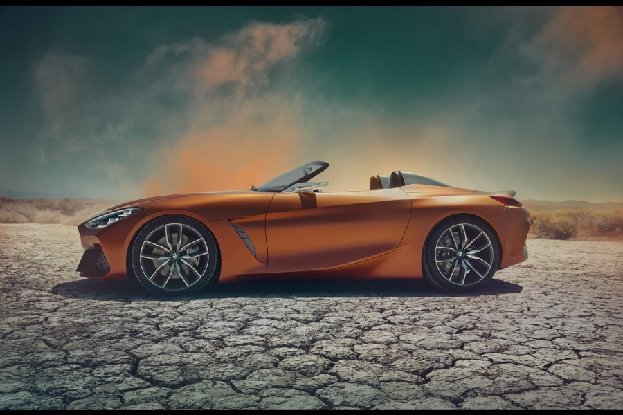Car News | 2018 BMW Z4 previewed as concept | CompleteCar.ie
