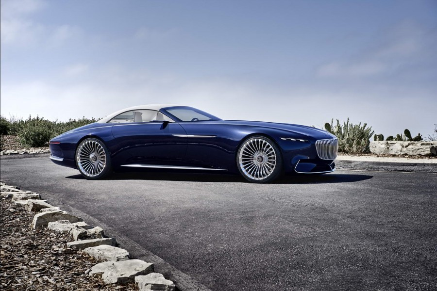 Car News | Mercedes-Maybach creates exquisite Vision 6 Cabriolet