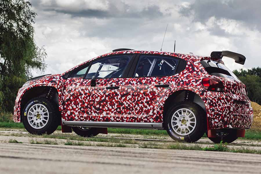Citroen Tests R5 Specification C3 Rally Car Car And Motoring