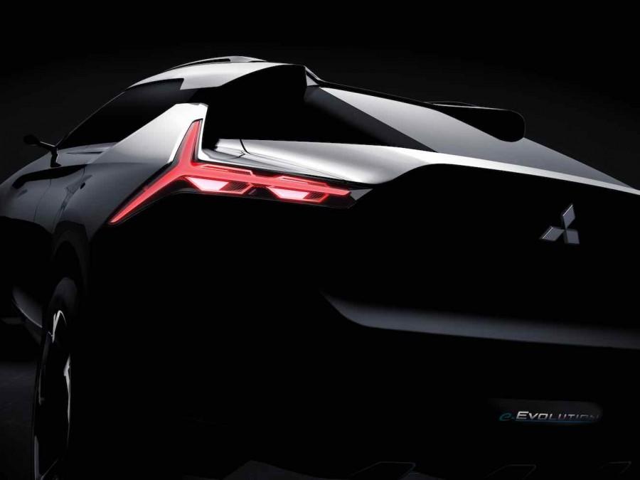 Car News | Mitsubishi e-Evolution performance electric concept