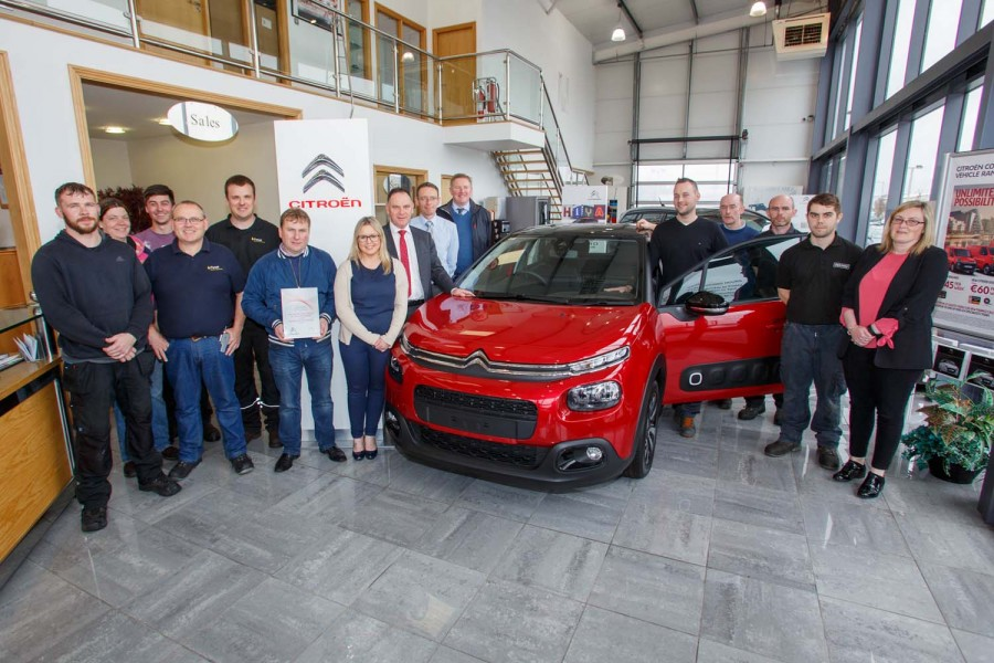 Car Industry News | Bolands and Keenan Bauer win dealership awards | CompleteCar.ie
