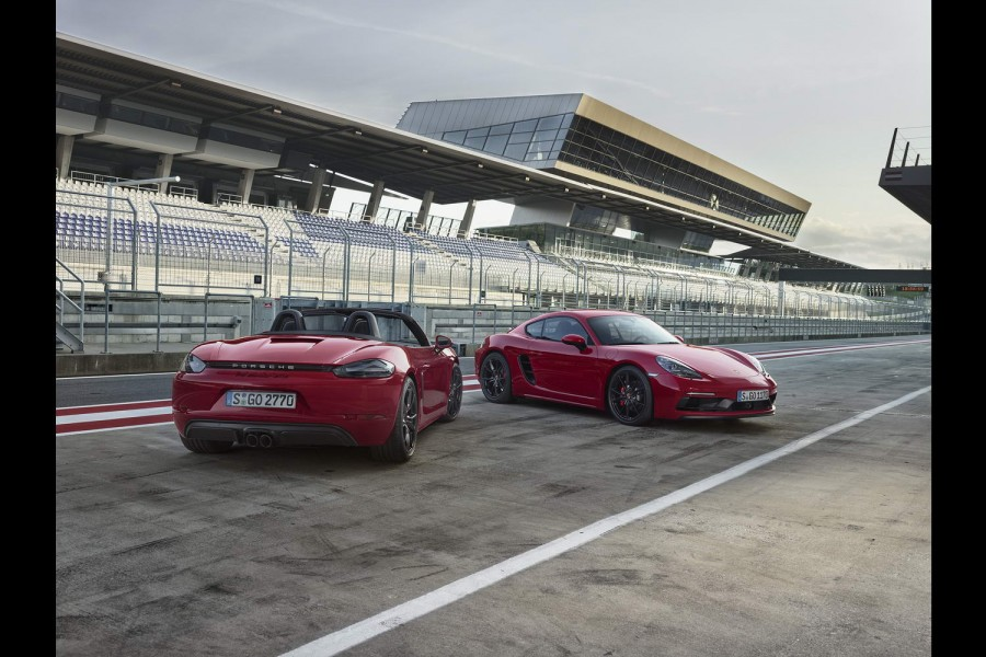 Car News   Porsche launches GTS for Boxster and Cayman   CompleteCar.ie