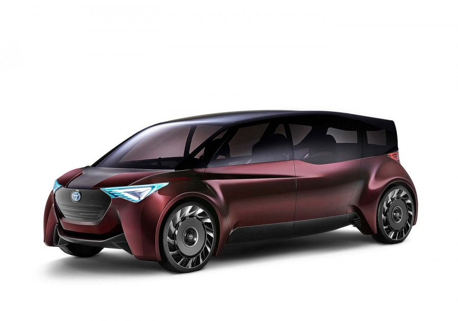 Car News   Toyota reveals two different fuel-cell concepts