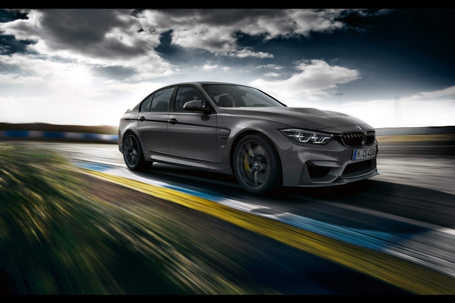 BMW creates lighter, faster M3 CS