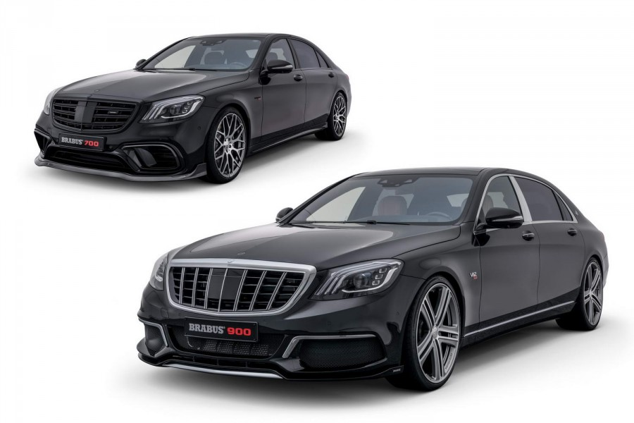 Brabus reveals two rocketships