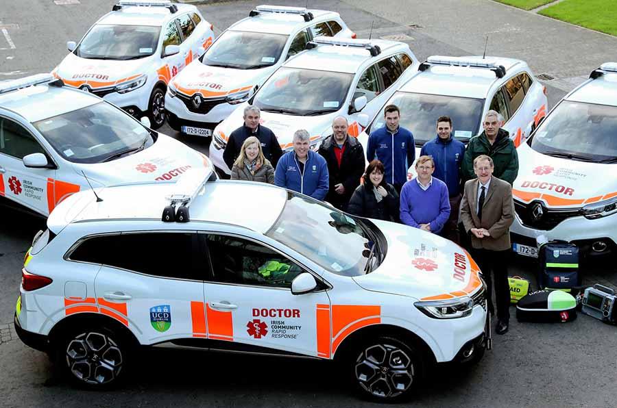 Car News | Renault Kadjars for Irish Community Rapid Response