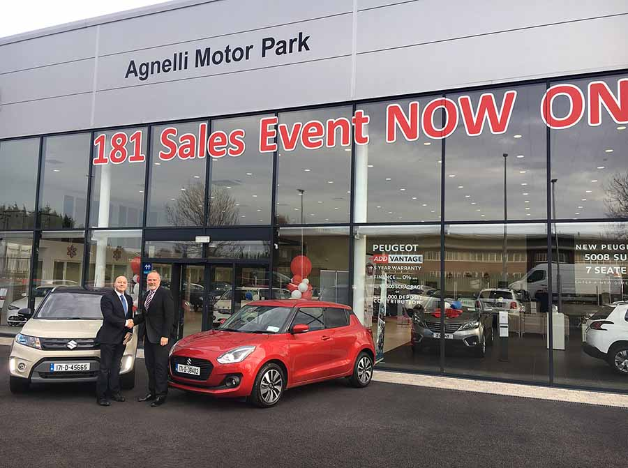 Car Industry News | Agnelli becomes the 22nd Irish Suzuki dealer | CompleteCar.ie