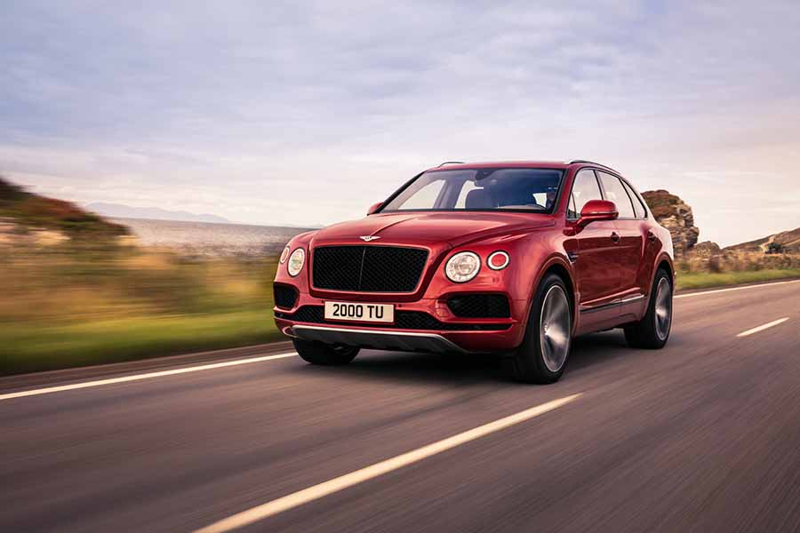 Bentley Bentayga gets a V8 engine