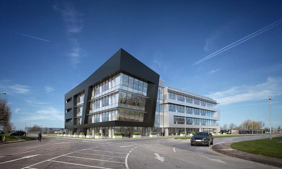 Jaguar Land Rover R&D centre for Shannon