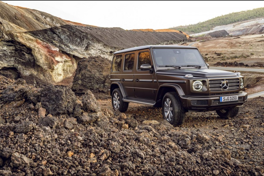 Car News | Merc finally reveals much-leaked G-Class | CompleteCar.ie