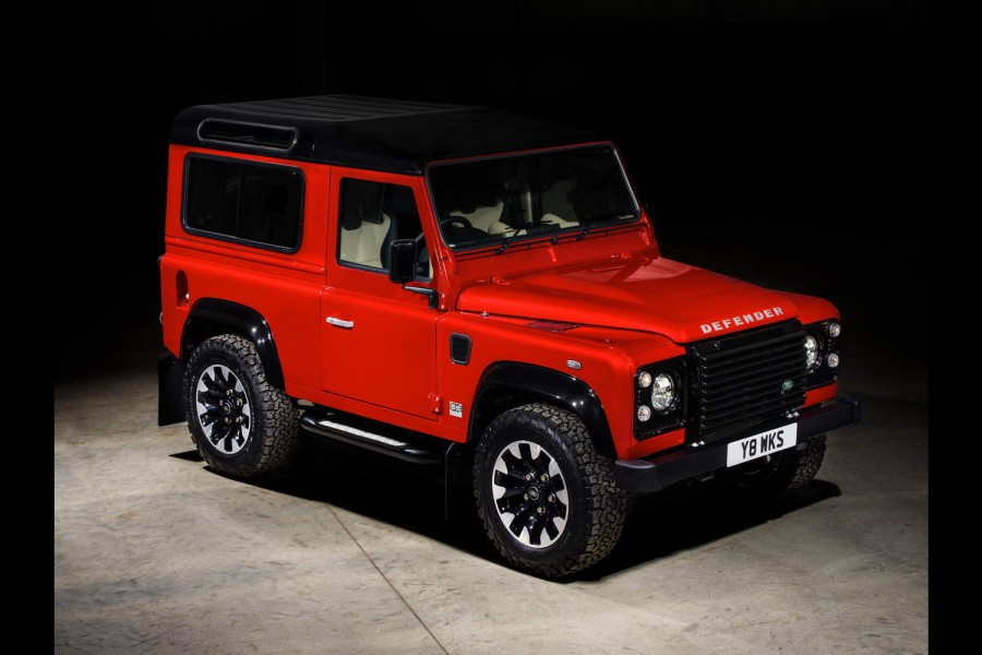 Car News | Land Rover revives Defender for V8 special | CompleteCar.ie