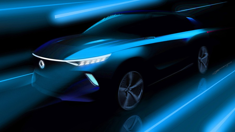 Car News | SsangYong previews e-SIV concept