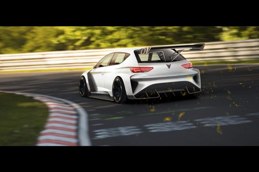 Car News   Cupra launches e-Racer touring car   CompleteCar.ie
