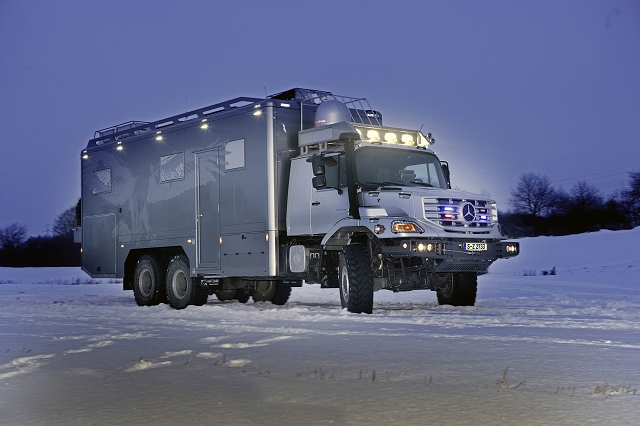 Car News | Apocalypse-ready Merc truck | CompleteCar.ie