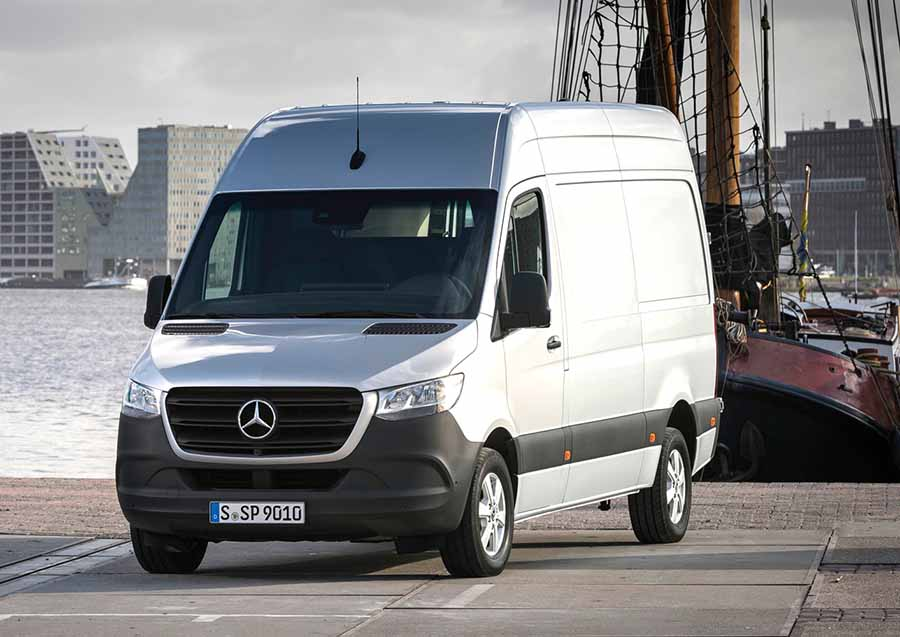 Mercedes announces prices for new Sprinter van