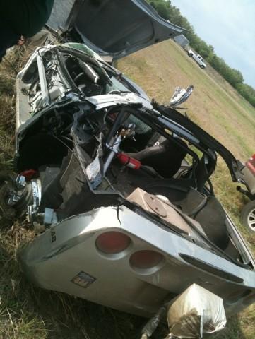 Car News | Corvette driver survives 370km/h roll | CompleteCar.ie