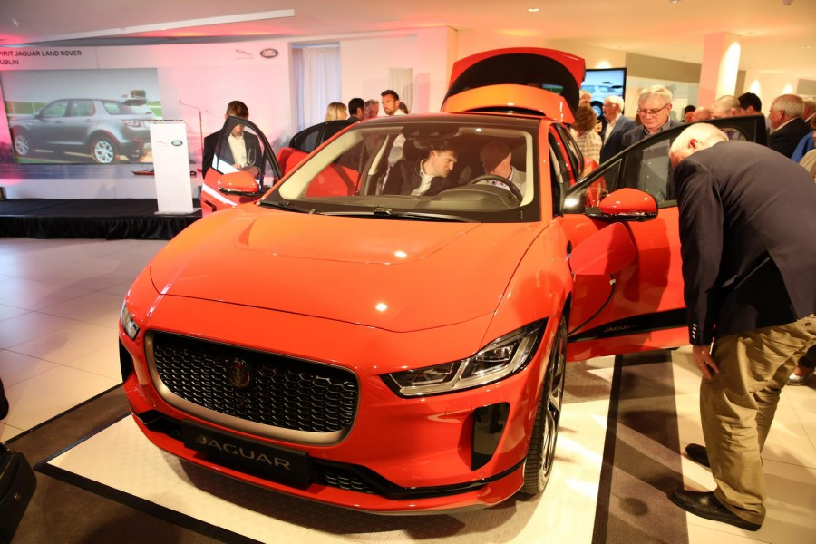 Car News | Jaguar I-Pace on show in Ireland | CompleteCar.ie
