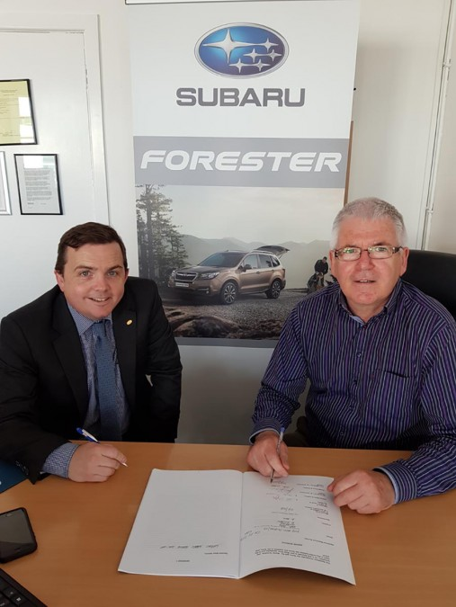 Car Industry News | Subaru appoints P.G. Duffy & Sons | CompleteCar.ie