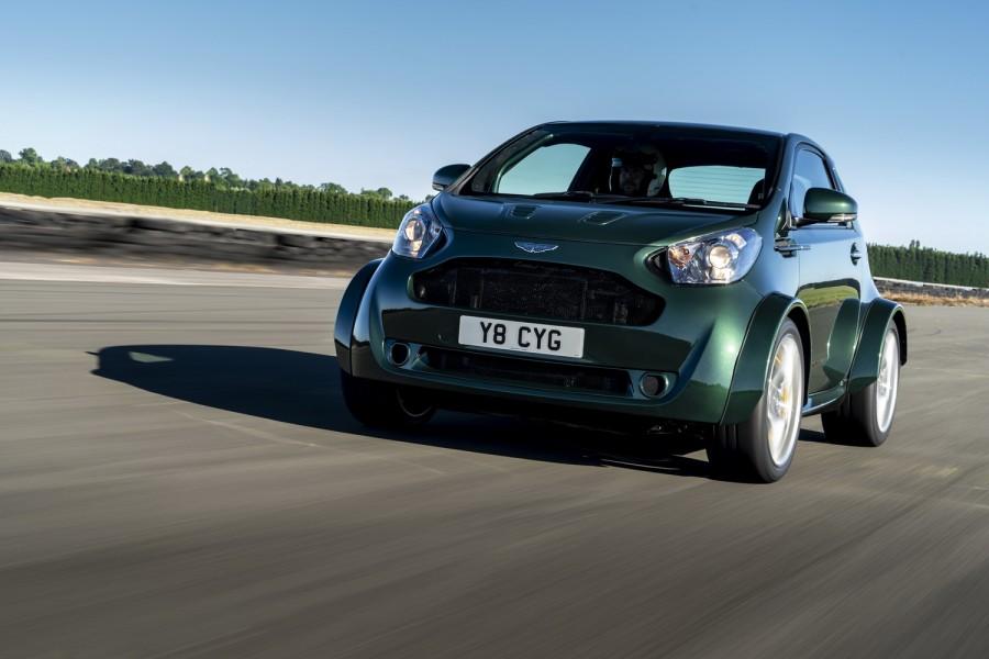 Car News | Aston Martin makes a V8-powered city car | CompleteCar.ie