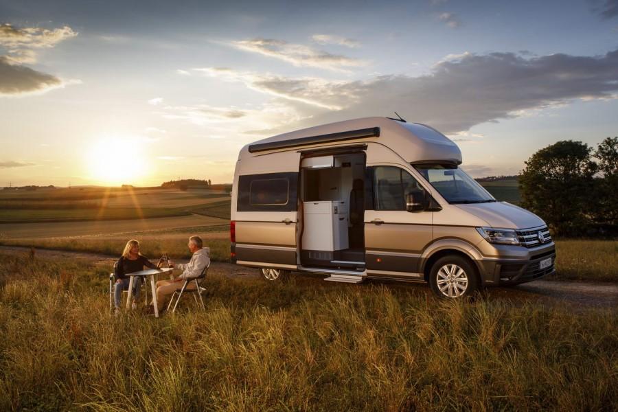 Volkswagen Grand California camper van