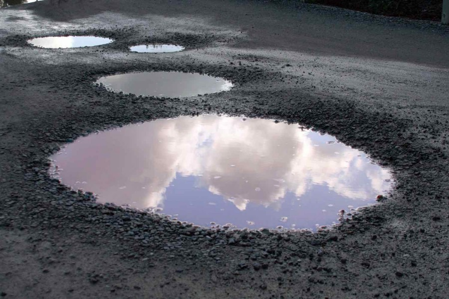 Potholes causing damage for two thirds of road users