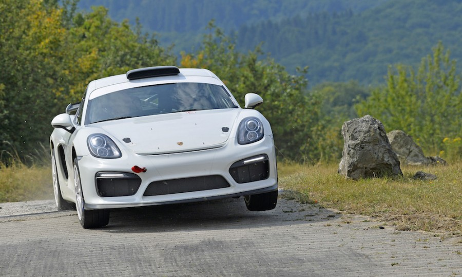 Car News | Porsche trials rally version of Cayman GT4 Clubsport