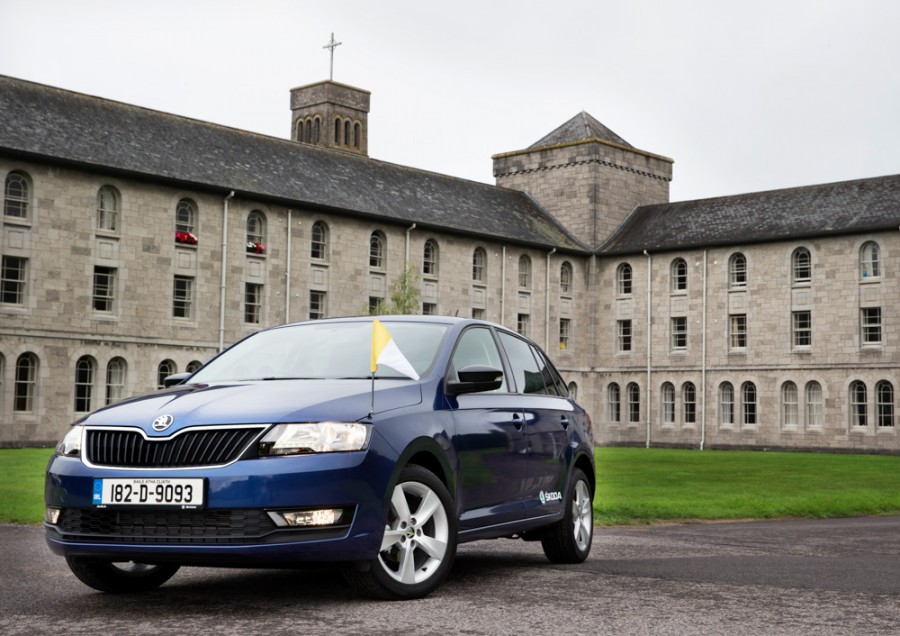 Car News | Pope's mobile for Irish visit will be a Skoda Rapid