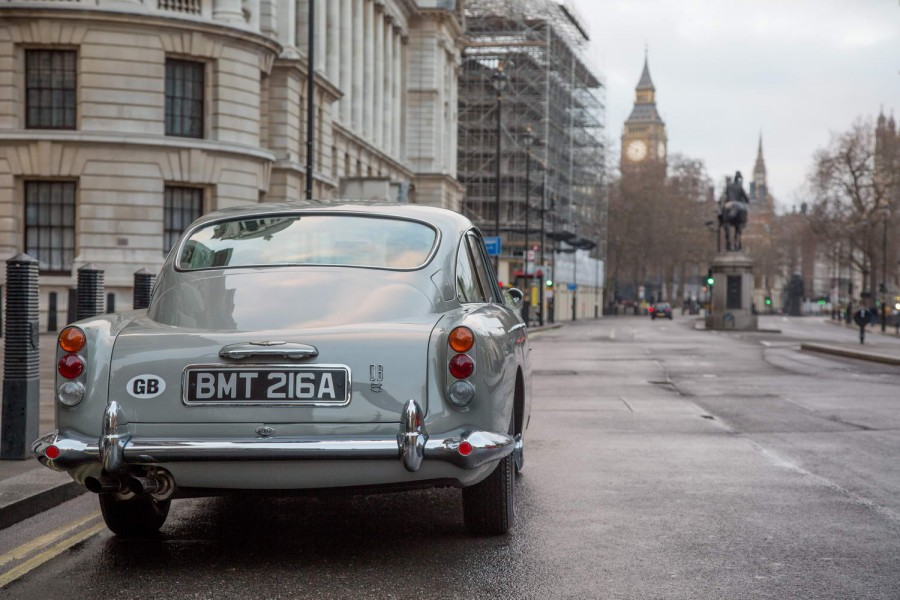 Car News | Aston to reproduce Bond's DB5