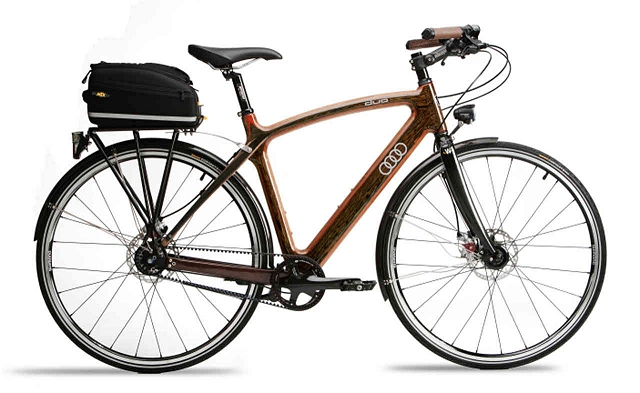 Car News | Audi launches wooden bike | CompleteCar.ie