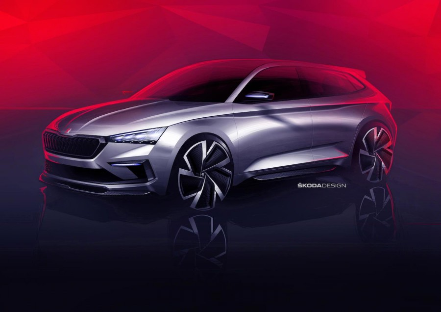 Car News | Sketches show Skoda Vision RS