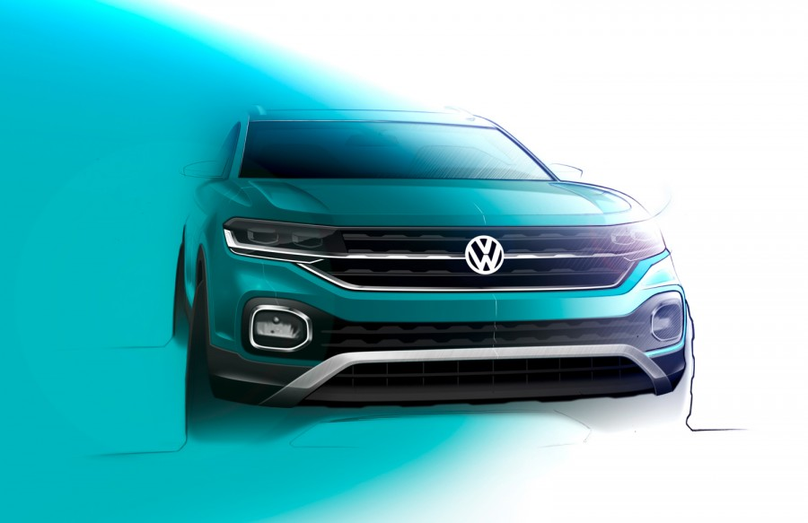 Car News | Volkswagen teases T-Cross compact SUV