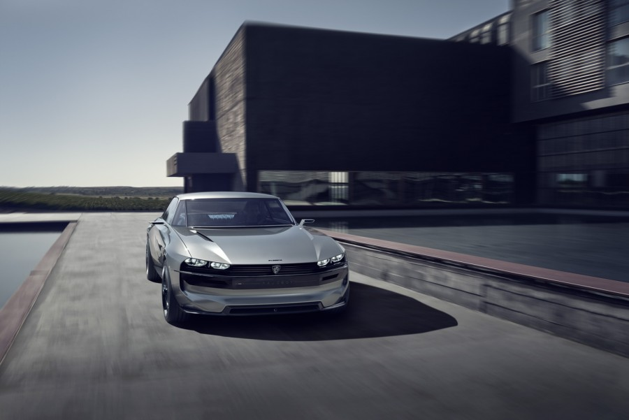 Peugeot E Legend At The Paris Motor Show Car And Motoring News By