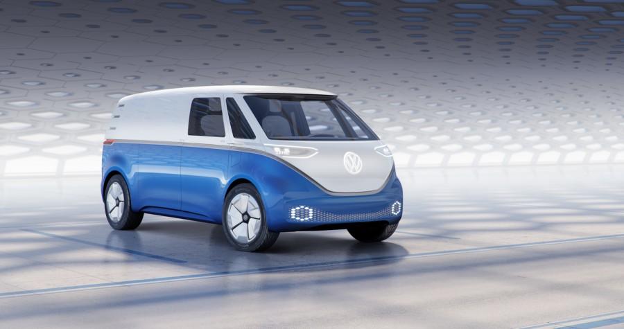 Car News | Volkswagen I.D. Buzz Cargo proves vans can be fun too