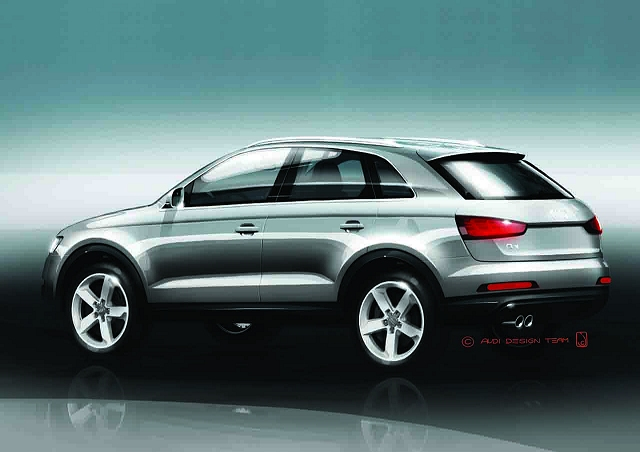 Audi Q3 previewed