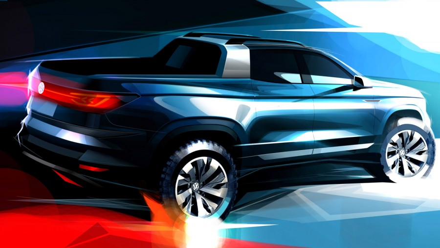 Car News | Volkswagen pickup concept previewed in Brazil