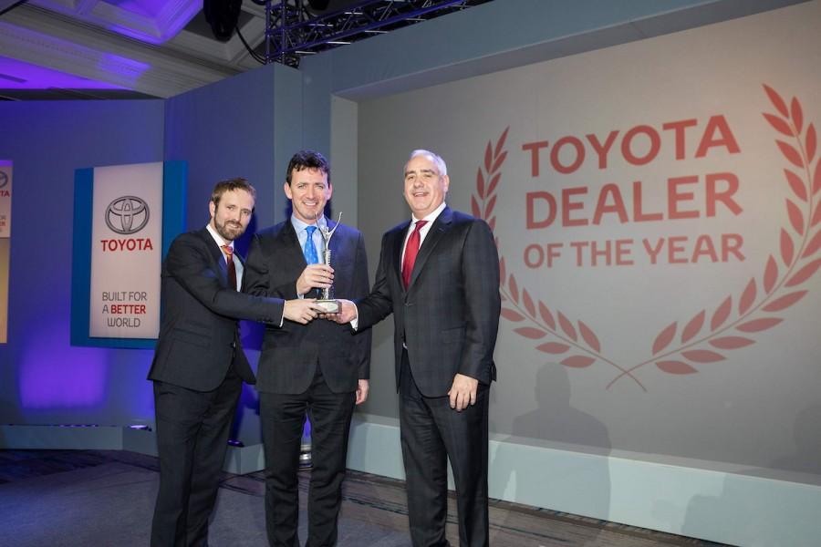 Car Industry News | Toyota Ireland celebrates dealer awards | CompleteCar.ie