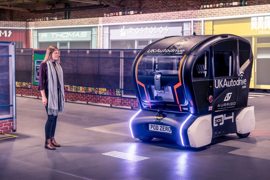 Jaguar Land Rover autonomous car technology - car and