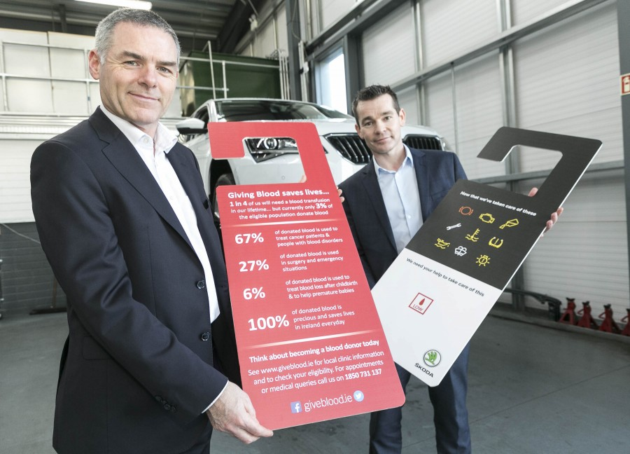 Skoda aims to boost blood donation