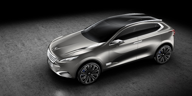 Car News | Stunning new Peugeot SUV concept | CompleteCar.ie