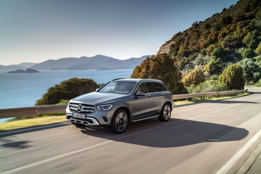 Car News | Mercedes shows off facelifted GLC | CompleteCar.ie