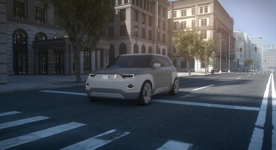 Car News   Fiat shows future electric Panda at Geneva   CompleteCar.ie