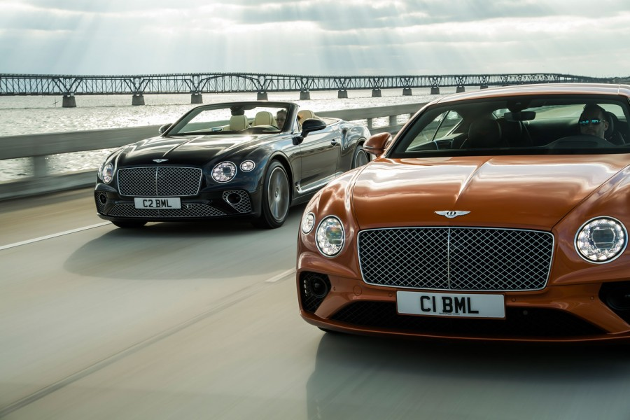 Car News | Bentley adds V8 choice to Continental range