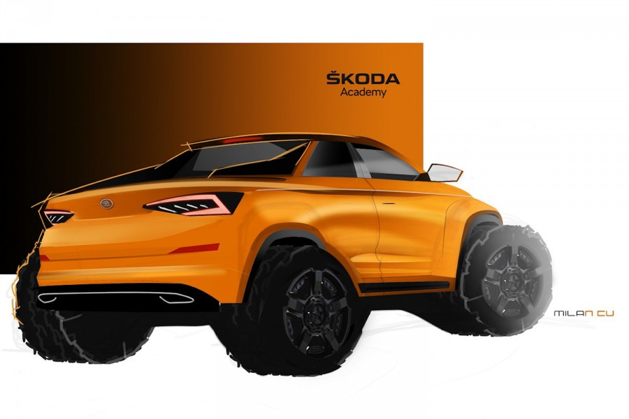 Car News | Skoda Student car will be a pickup Kodiaq | CompleteCar.ie